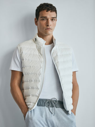 WHITE GILET SOFT COLLECTION