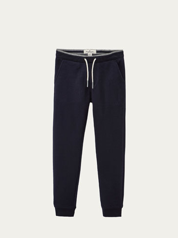 PANTALON TEXTURÉ JOGGING FIT
