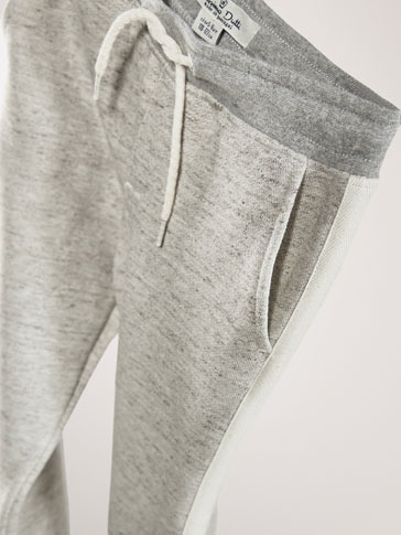 PANTALON DÉTAIL CONTRASTANT JOGGING FIT