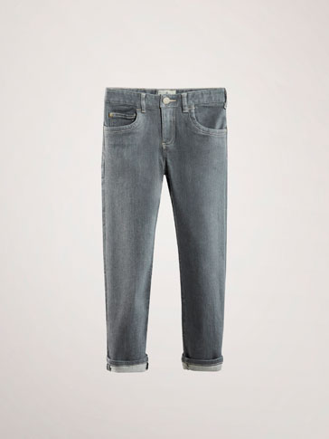 PANTALON EN JEAN REGULAR FIT