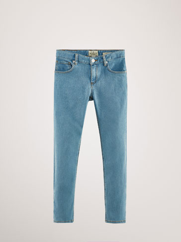 DENIM BROEK LIGHT SLIM FIT
