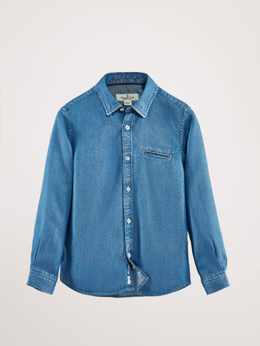 LYOCELL DENIM SHIRT