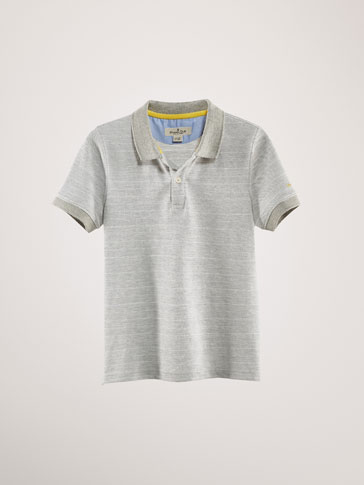COTTON JACQUARD POLO SHIRT