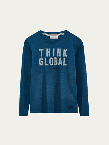T-SHIRT THINK GLOBAL