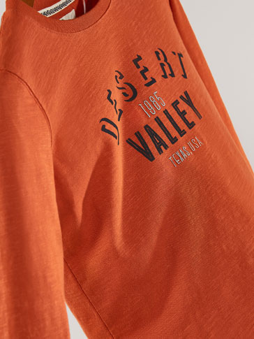 CAMISETA DETALLE DESERT VALLEY