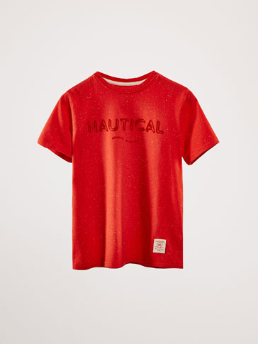 'NAUTICAL' SLOGAN T-SHIRT