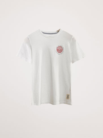 'LOST IN THE SEA' COTTON T-SHIRT