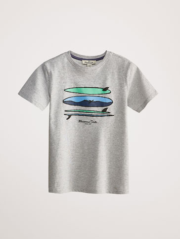 COTTON SURFBOARD T-SHIRT