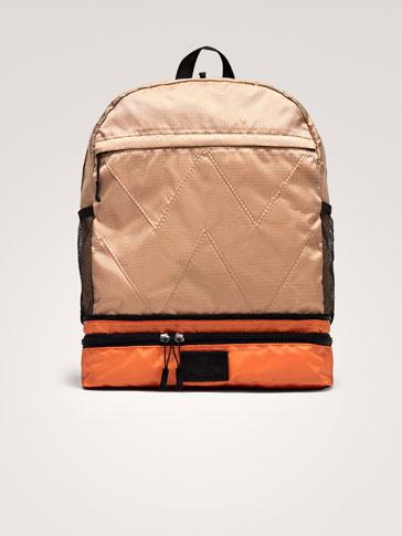 حقيبة ظهر-حقيبة خصر ممزوجة