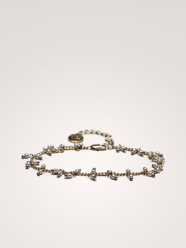 PEARL BEAD ANKLET
