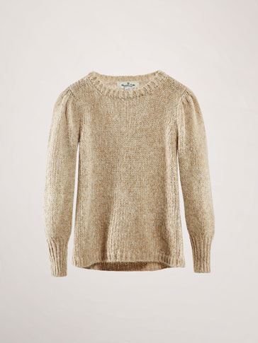 SWEATER MED SKINNENDE LOOK