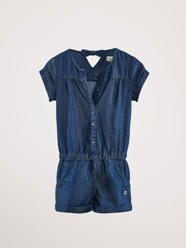 LYOCELL-DENIM JUMPSUIT