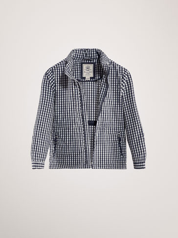 VESTE CARREAUX VICHY