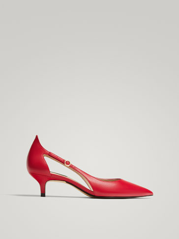 ESCARPIN NAPPA ROUGE