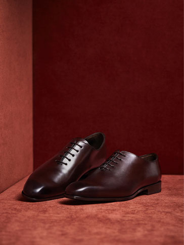 LIMITED EDITION BROWN LEATHER SHOES