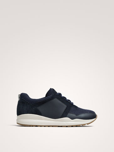 SNEAKERS ABBINATE BLU