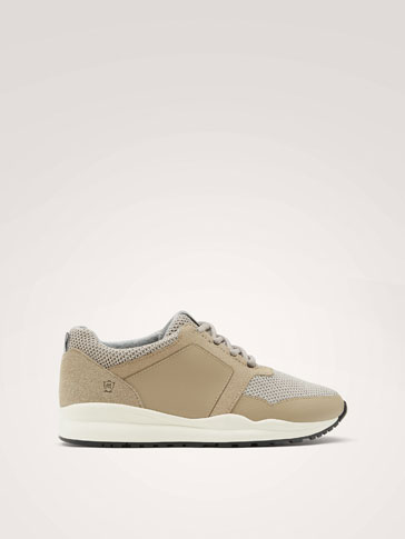 SNEAKERS ABBINATE NUDE