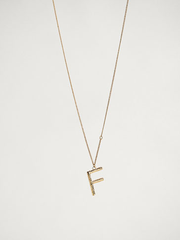 ONLINE EXCLUSIVE LETTER F NECKLACE