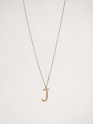 ONLINE EXCLUSIVE LETTER J NECKLACE
