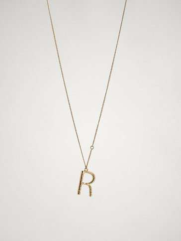 ONLINE EXCLUSIVE LETTER R NECKLACE