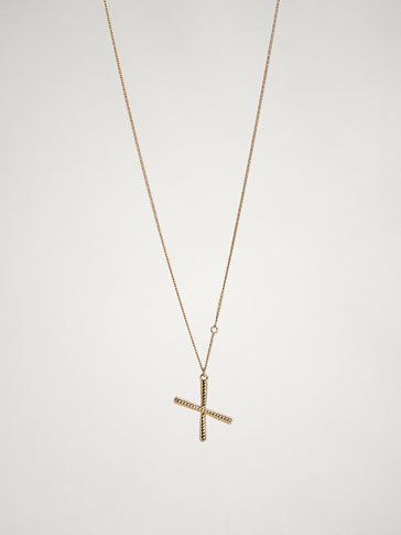 ONLINE EXCLUSIVE LETTER X NECKLACE