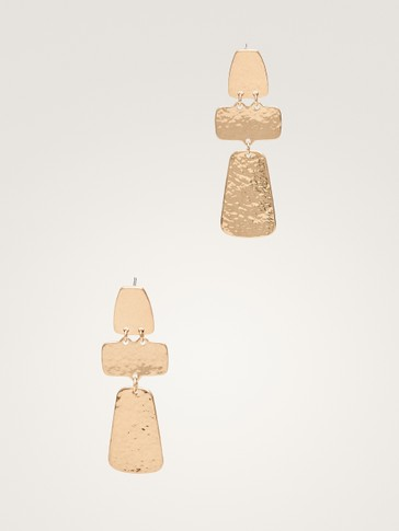 THREE-PIECE EARRINGS