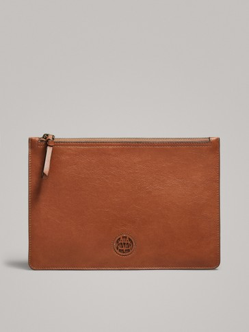 NAPPA POCHETTE WITH LOGO