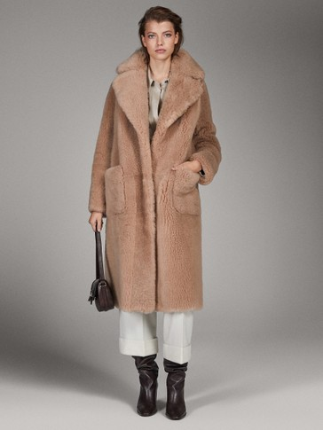MANTEAU EN CUIR DOUBLE FACE LIMITED EDITION