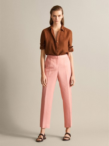 PANTALON RECTO CROPPED