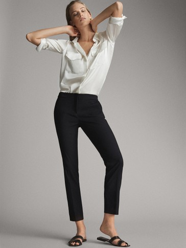 PANTALON UNI SLIM FIT