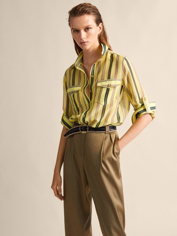 0870f68b1 Women's Shirts and Blouses | Massimo Dutti Spring Summer 2019