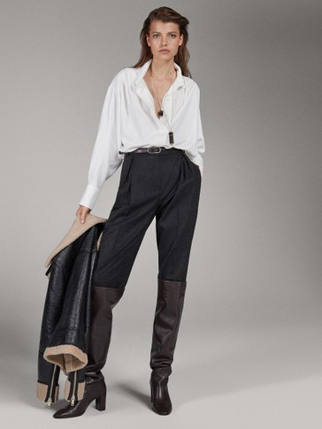 FLANELLEN WOLLEN PANTALON LIMITED EDITION