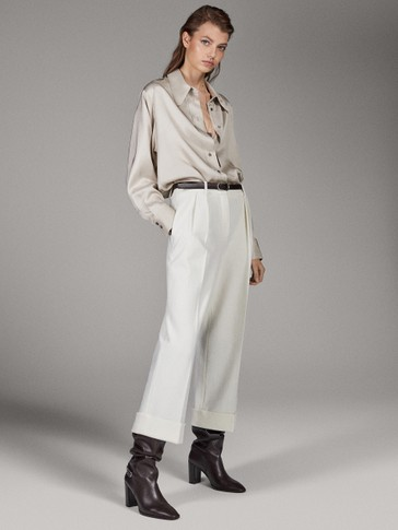 PANTALONI IN LANA LIMITED EDITION