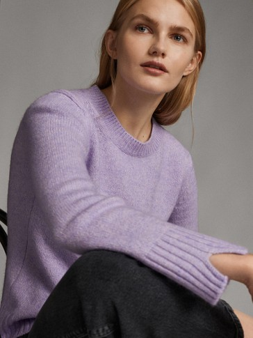 BOATNECK KNIT SWEATER