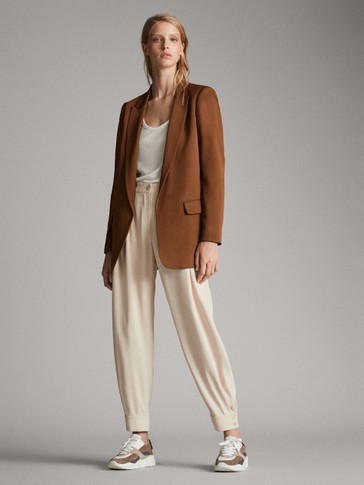LONG BLAZER WITH POCKETS