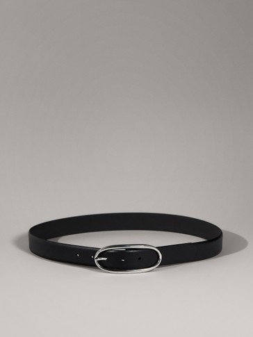 LIMITED EDITION BLACK LEATHER BELT
