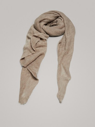 FULAR LISO 100% CASHMERE