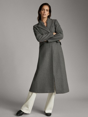ASIA FIT. LONG WOOL COAT