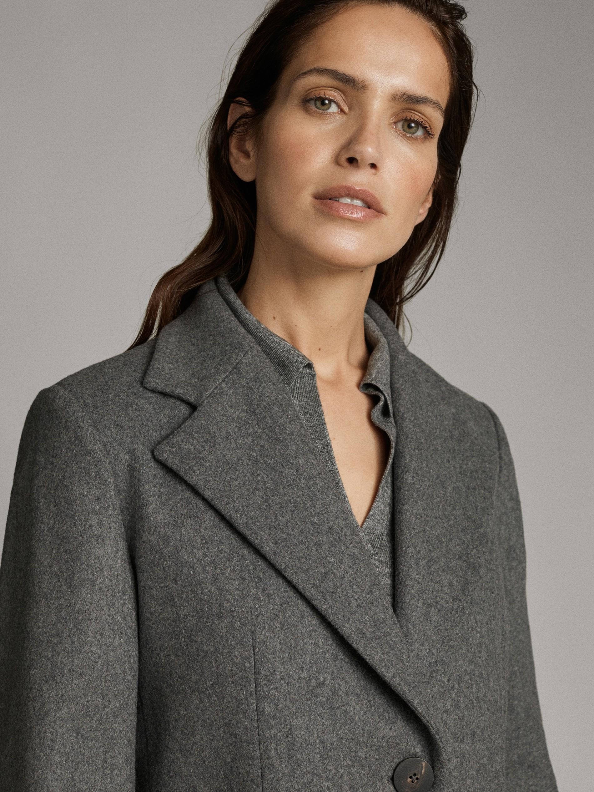 Manteau noir capuche femme pas cher