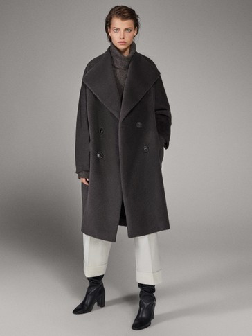 LIMITED EDITION WOOL/ALPACA WOOL COAT