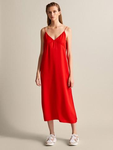 فستان طراز لانجري