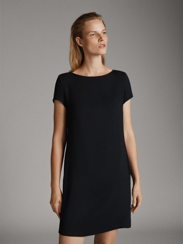 Robe Chemisier Manches Courtes by Massimo Dutti