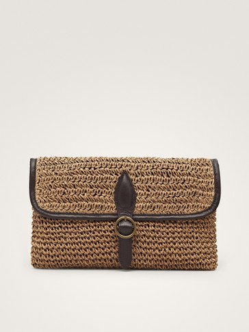 BRAIDED CROSSBODY BAG