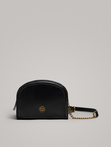 NAPPA CROSSBODY BAG WITH CHAIN