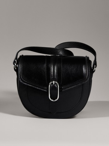 LIMITED EDITION BLACK LEATHER CROSSBODY BAG