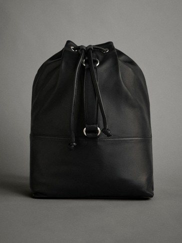 LEATHER APRÈS-SKI BACKPACK