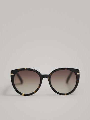 Arket Acetate eye eye SunglassesBlack Arket Arket Acetate Cat Cat SunglassesBlack NO8nv0wm