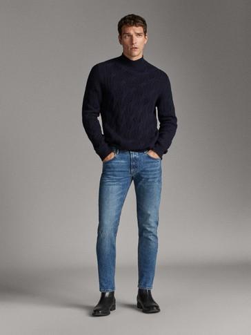 سروال جينز سليم فيت