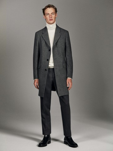 PERSONAL TAILORING TWILL WOOL TROUSERS