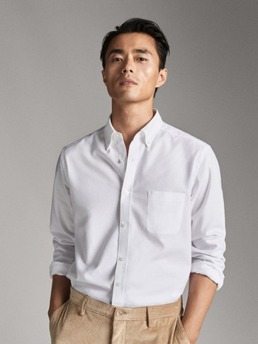 CHEMISE COTON OXFORD REGULAR FIT